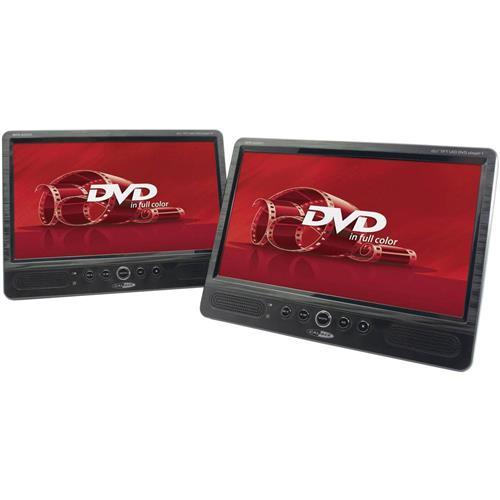 "DVD prehrávač do opierok hlavy, 2x LCD Caliber Audio Technology MPD-2010T, 25.4 cm (10 "") 1541083"