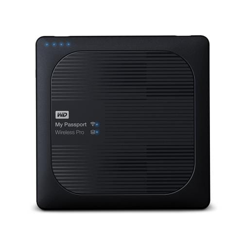Ext. HDD WD My Pass.Wireless Pro 2TB, 2.5'', USB3.0, SD WDBP2P0020BBK-EESN