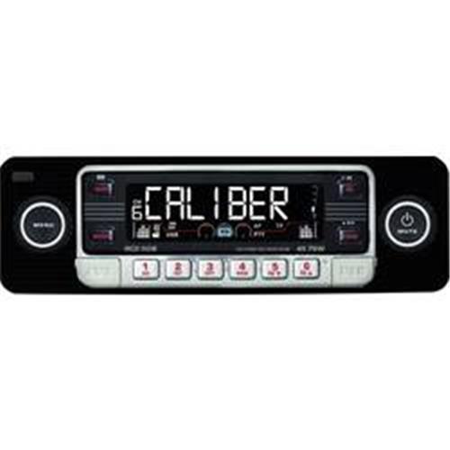Autorádio Caliber RCD-110B Classic, čierna 373803