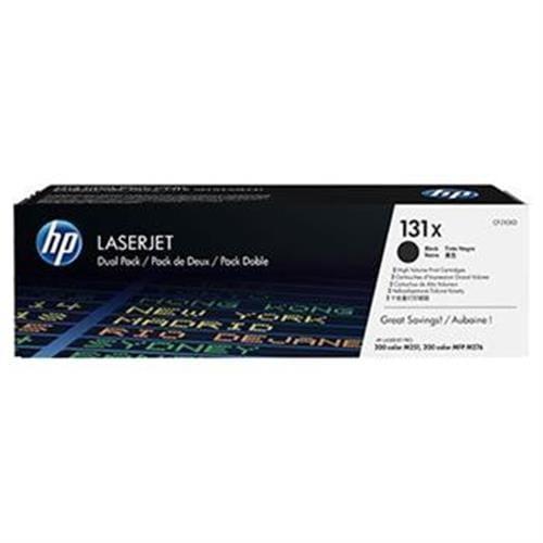 Toner HP CF210XD, Dual pack, HP131X čierny, 2x2400str.,