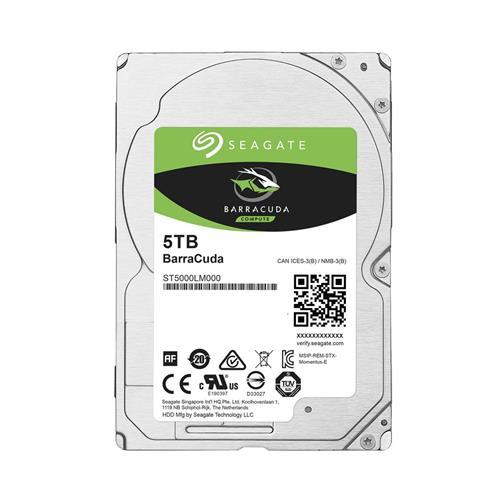 HDD 2,5'' 5TB Seagate BarraCuda 128MB SATAIII 5.4k ST5000LM000