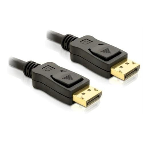 DeLock kábel DisplayPort samec na Displayport samec, dĺžka 2m 82585