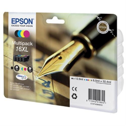 Kazeta EPSON WF2520/2540 T1626 Multipack CMYK XL 16 C13T163640