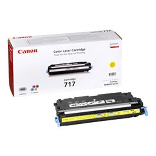 Toner CANON CRG-717 žltý 2575B002AA