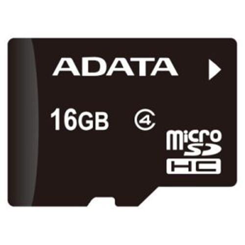 ADATA 16GB microSDHC Class 4 AUSDH16GCL4-R