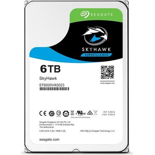 HDD 6TB Seagate SkyHawk 256MB SATAIII 5400rpm 3RZ ST6000VX001