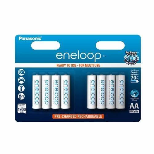 Panasonic Eneloop R6/AA 1900mAh, 8 ks, Blister BK-3MCCE-8BE
