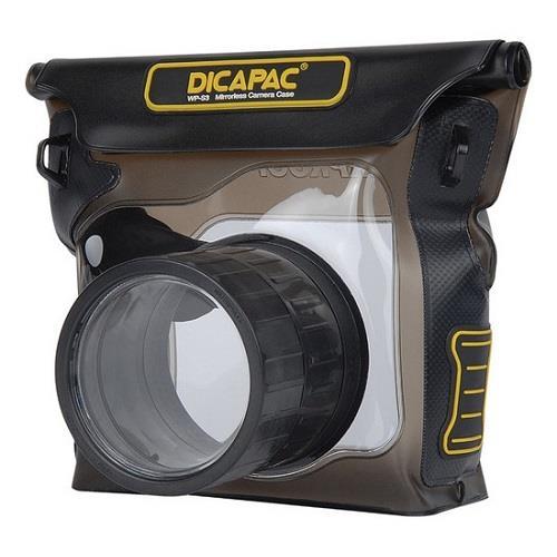 Podvodné puzdro DiCAPac WP-S3 pre hybridné digitálne fotoaparáty (bezzrkadlovky) so zoomom