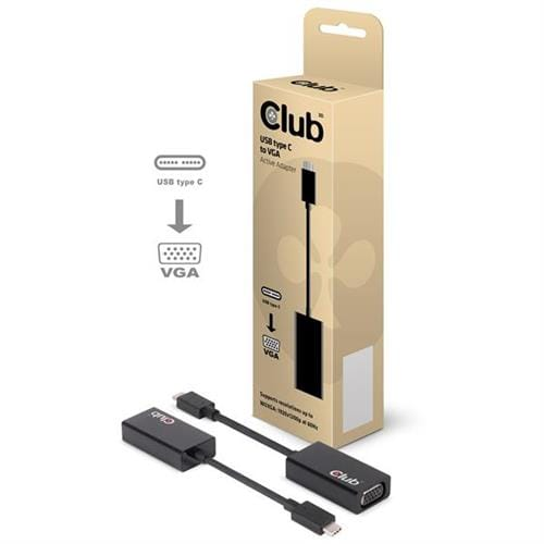 Club3D USB-C to VGA Active Adapter CAC-1502