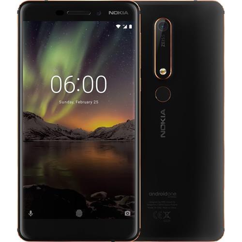 Nokia 6.1 Single SIM Black/Copper 11PL2B01A09