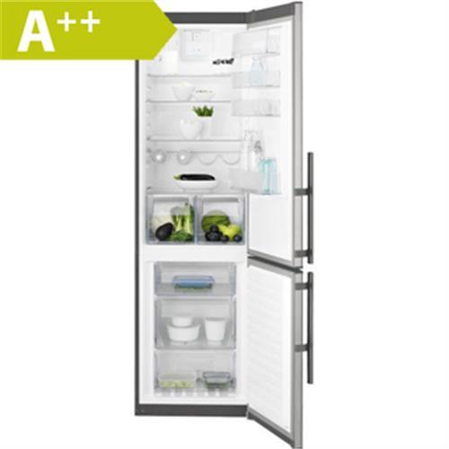 ELECTROLUX Kombinovaná chladnička EN3853MOX nerez