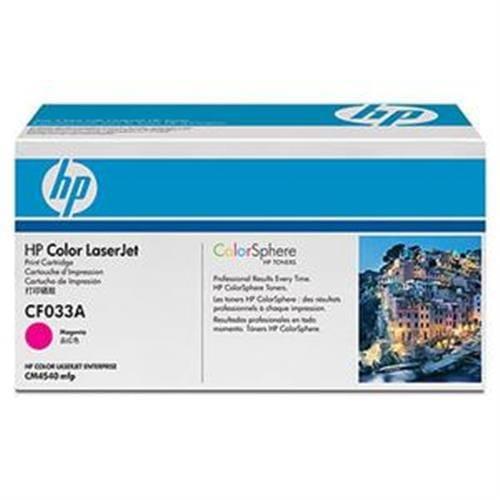 Toner HP CF033A HP646 purpurová pre Color LaserJet CM4540, 12500str.