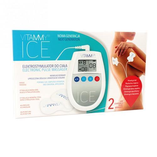 VITAMMY ICE Svalový stimulátor, farba šedá 417809