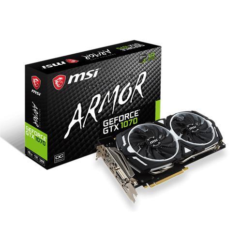 MSI GTX 1070 ARMOR 8G OC