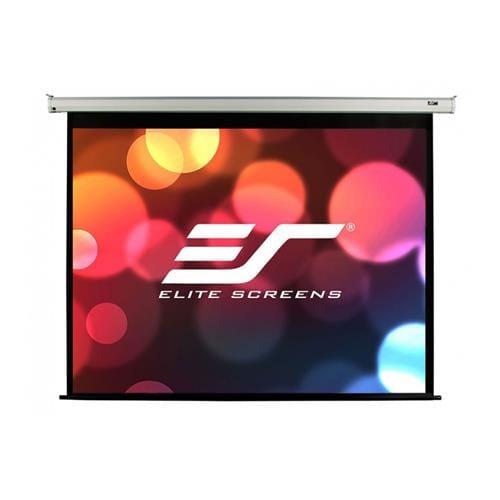 """ELITE SCREENS plátno elektrické motorové 84"""" (213,4 cm)/ 16:9/ 104,6 x 185,9 cm/ Gain 1,1/ case biely RF VMAX84XWH2"""
