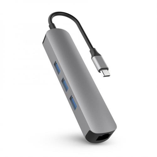 HyperDrive 6v1 USB-C Hub s 4K HDMI - Space Gray HY-HD233A-GRAY