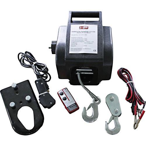 Motorový autonaviják HP Autozubehör 20604, 900 kg, káblové/bezdrôtové ďiaľkové ovládanie 856330