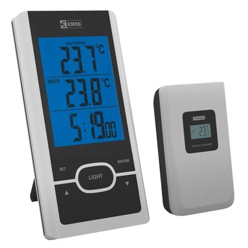 Teplomer EMOS E0107T, digitálny, bezdrôtový 2603115000