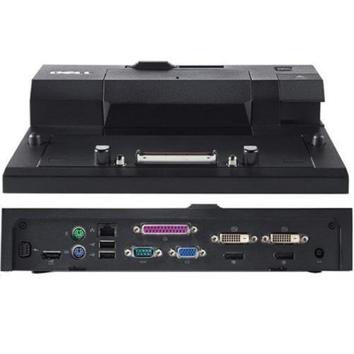 DELL EURO2 Advanced E-port replikátor/ rozšírený/ dokovacia stanica/ 130W AC adap./ USB 3.0/ s nap. káblom/ pre Latitude 452-11415