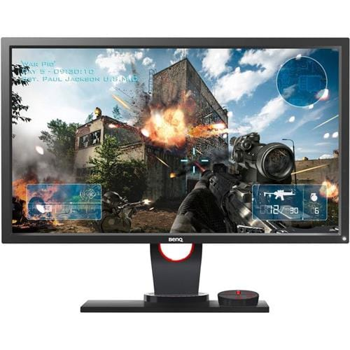 "Monitor BenQ XL2430 24"" LED 1920x1080 12M:1 1ms 350cd 2xHDMI DP DVI PIVOT cierny 9H.LF1LB.QBE"
