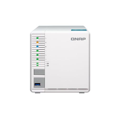 QNAP TS-351-4G (2,58GHz / 4GB RAM / 3x SATA / 2x M.2 NVMe sloty / HDMI 1.4a / 1x GbE / 3x USB porty)