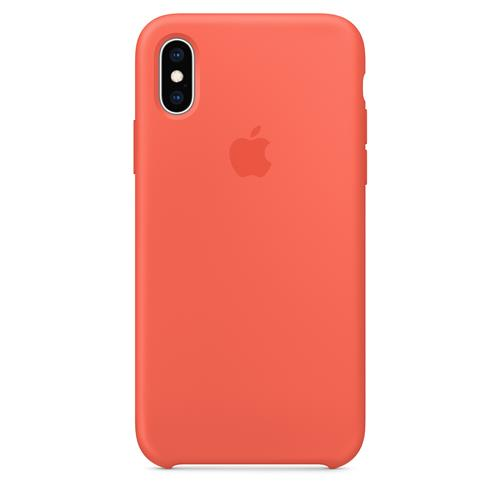 iPhone XS Max Silicone Case - Nectarine MTFF2ZM/A