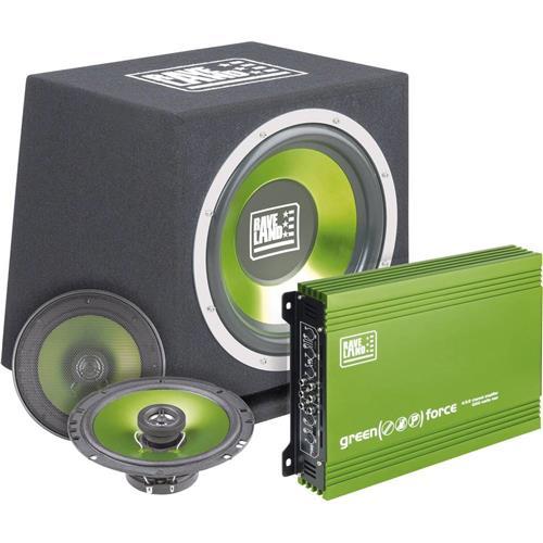 Hi-Fi sada do auta Raveland Green Force II, 4 x 250 W 372467