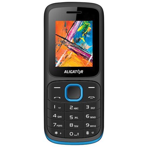 ALIGATOR D210 Dual sim čierno-modrý AD210BB
