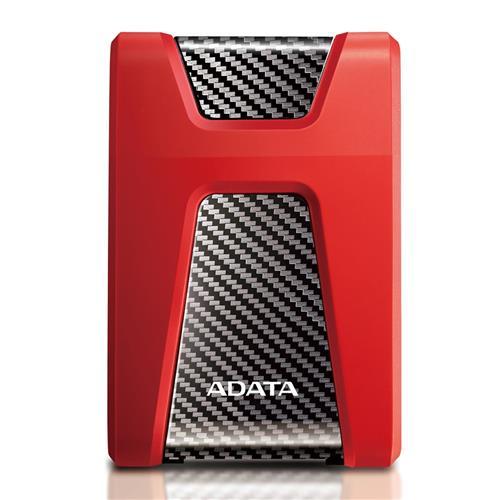 Ext. HDD ADATA HD650 1TB, 2,5'', Red AHD650-1TU31-CRD
