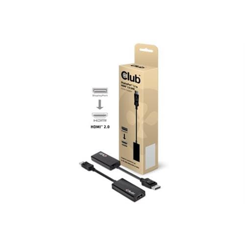 Club3D DisplayPort 1.2 to HDMI 2.0 4K60Hz UHD Active Adapter CAC-1070