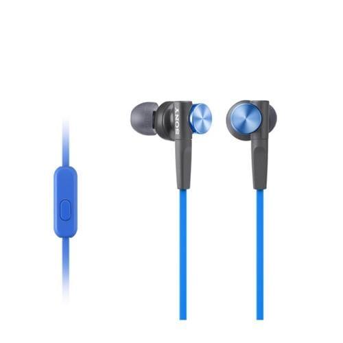 Slúchadlá SONY MDR-XB50AP, handsfree, modré MDRXB50APL.CE7