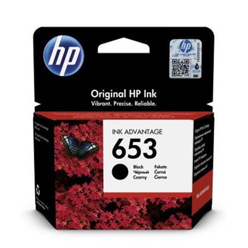 HP 653 Black Original Ink Advantage Cartridge 3YM75AE