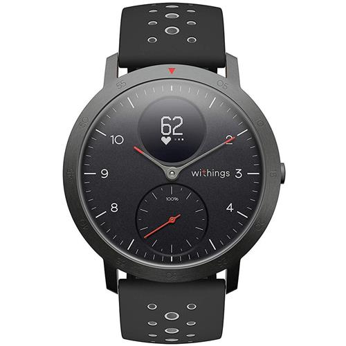 Withings Steel HR Sport (40mm) - Black HWA03b-40black-sp