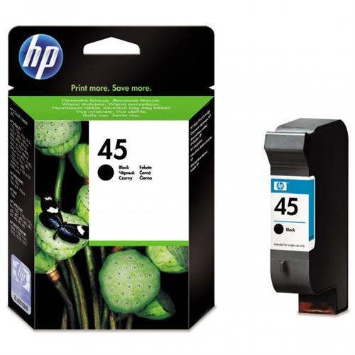 Kazeta HP 51645A No. 45 Black 51645AE