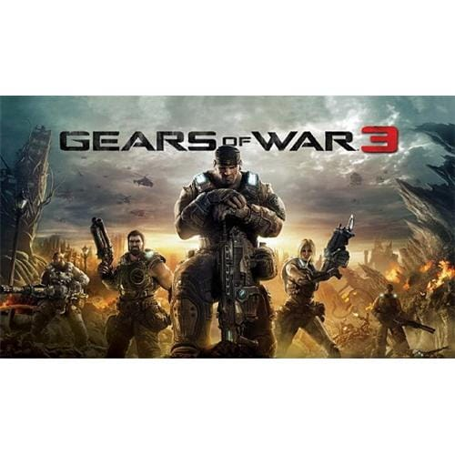 XBOX 360 hra Gears of War 3 CS/EL/HU/SK PAL DVD
