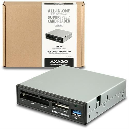 AXAGO interná 3.5''USB 3.0 5-slot čítačka ALL-IN-ONE CRI-S3