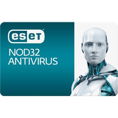 ESET NOD32 Antivirus 3 PC + 1 ročný update EDU