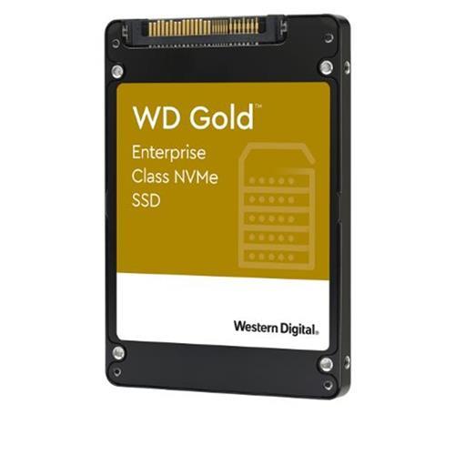 SSD 1.92TB WD Gold NVMe U.2 PCIe Gen3.1 7mm WDS192T1D0D