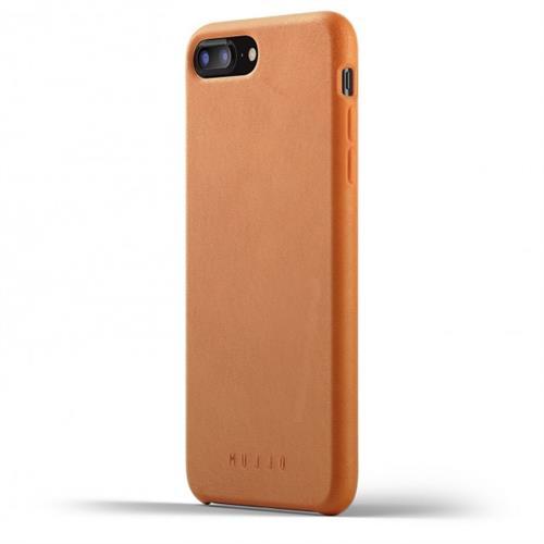 MUJJO Full Leather Case pre iPhone 8 Plus / 7 Plus - žltohnedý MUJJO-CS-094-TN