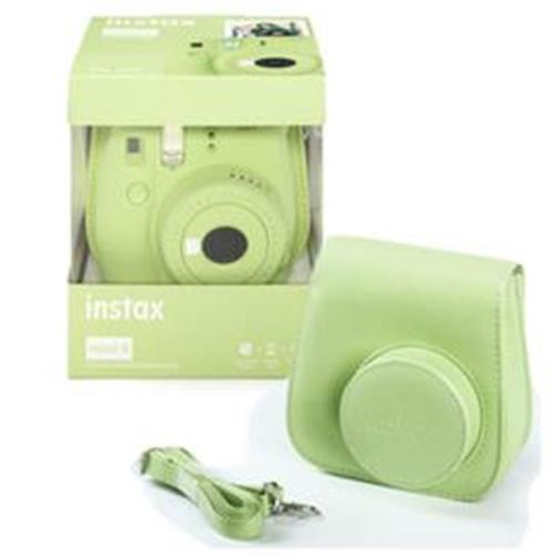 Fujifilm Instax Mini 9 Lime Green + 10ks film + puzdro 70100138442 f89bf6147e3