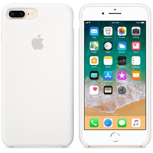 Apple iPhone 8 Plus / 7 Plus Silicone Case - White MQGX2ZM/A
