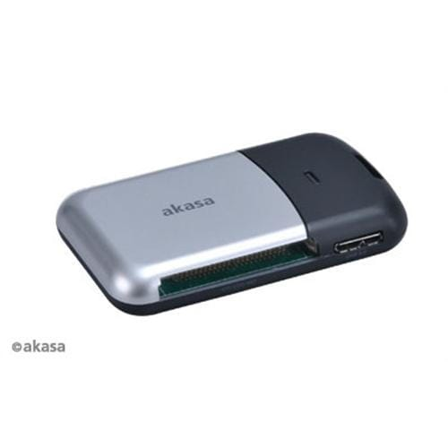 Čítačka kariet AKASA AK-CR-05U3BK, USB 3.0 (6v1)