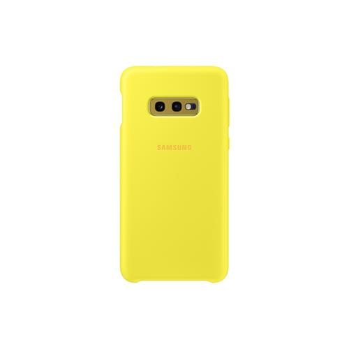 Samsung Silicone Cover S10e Yellow EF-PG970TYEGWW
