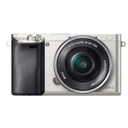 Sony A6000L, 16-50mm, 24,3Mpix, strieborná ILCE6000LS.CEC