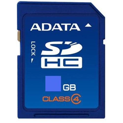 ADATA 16GB SDHC karta Class 4 ASDH16GCL4-R