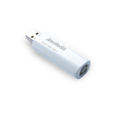 AVerMedia digital TV Tuner, AverTV Volar HD 2 TD110, DVB-T, HDTV H.264, USB 2.0 61TD1100A0AB