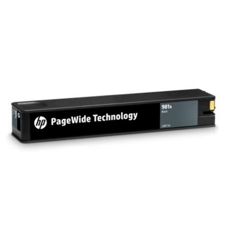J3M71A Originálna čierna kazeta HP 981A PageWide