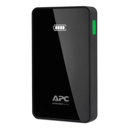 APC Mobile Power Pack, 5000mAh Li-polymer, Black ( EMEA/CIS/MEA) M5BK-EC