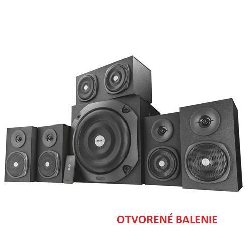 Zvuk. systém TRUST Vigor 5.1 Surround pre PC - čierny 22236