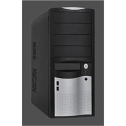 Skrinka EUROCASE ML5410 black, silver 2x USB EU 350W,PFC,F12 ML5410BKSLEU350PFC